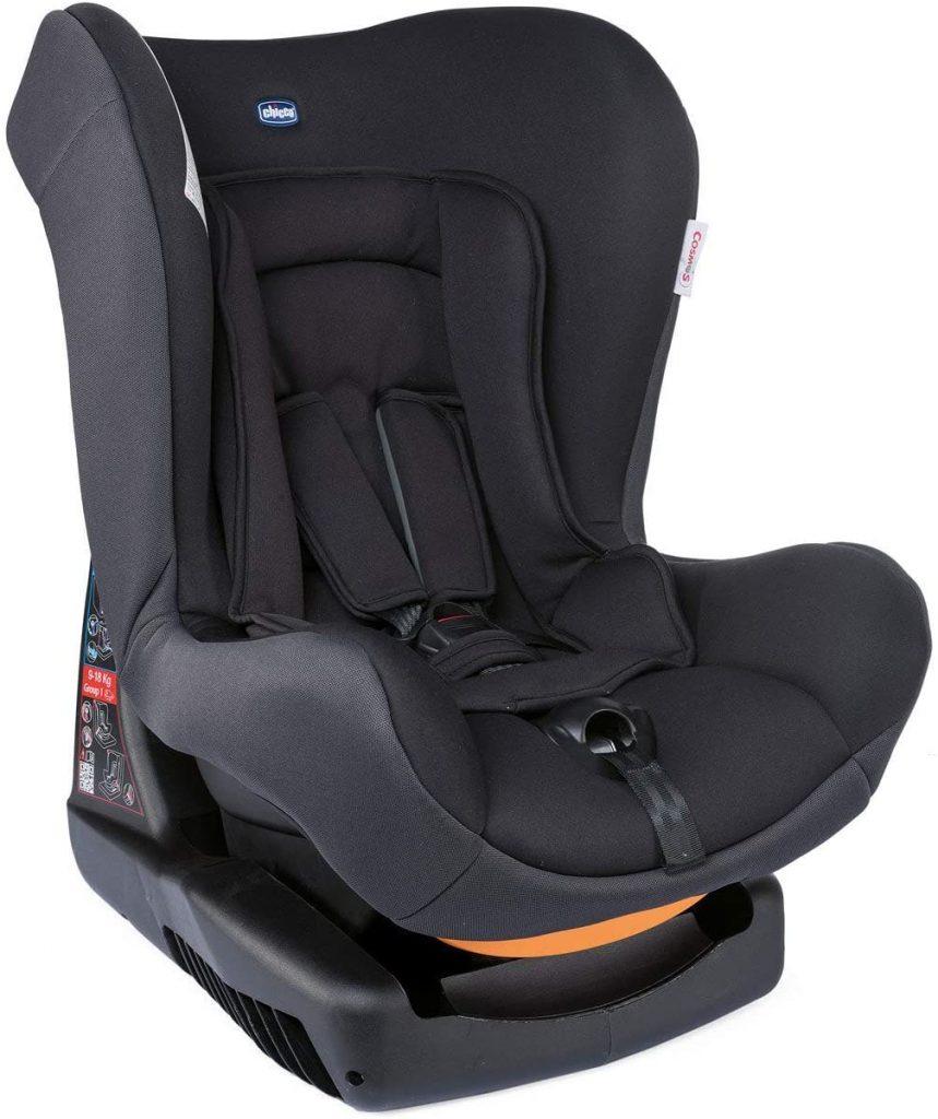 Le Chicco Cosmos est un siège auto utilisable dès la naissance.