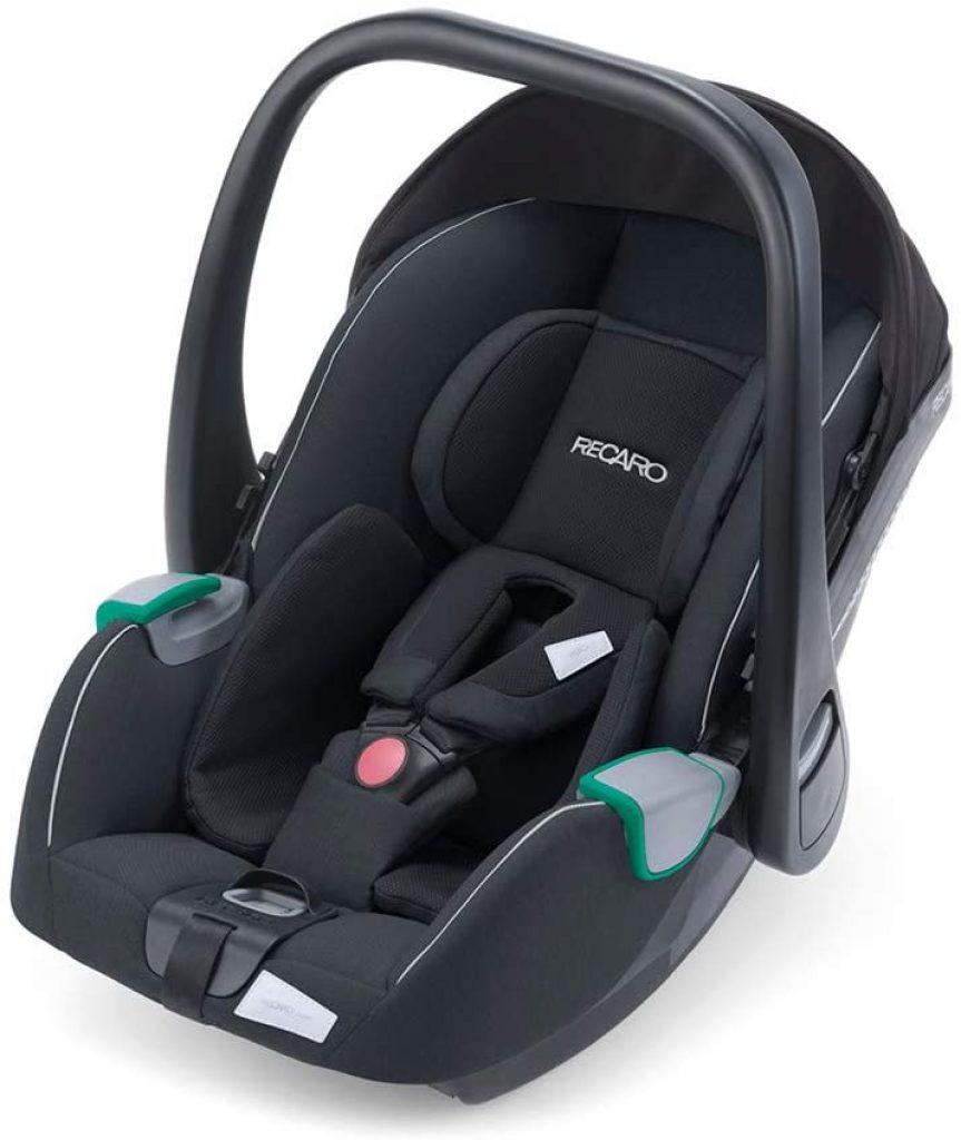 La coque auto Avan i-size convient pour un bébé mesurant de 40 à 83 cm.