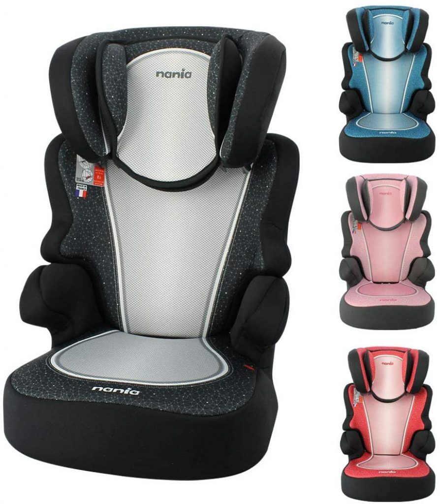 Le siège auto Nania Be Fix existe en divers coloris.