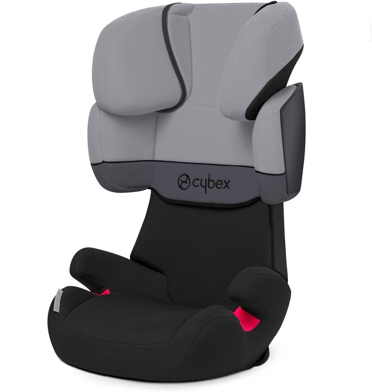 Le siège auto pas cher Cybex solution X s'installe avec la ceinture de sécurité de votre véhicule.