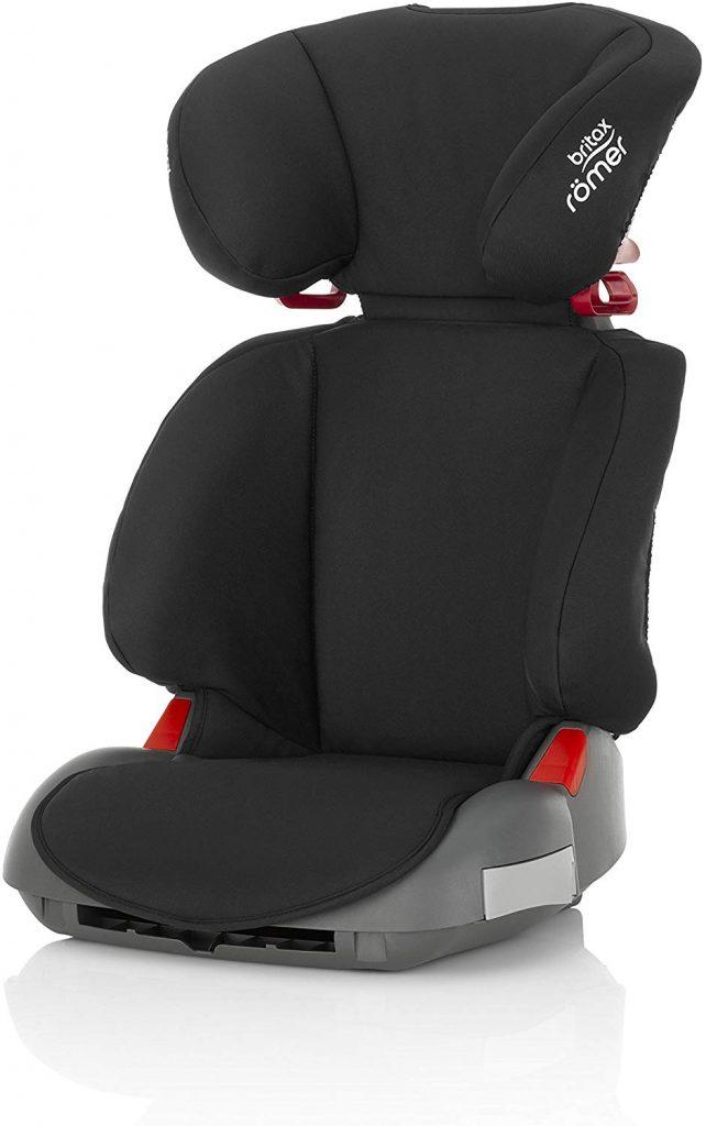 Le siège auto Britax Romer Adventure peut s'utiliser de 15 à 36 kilos.