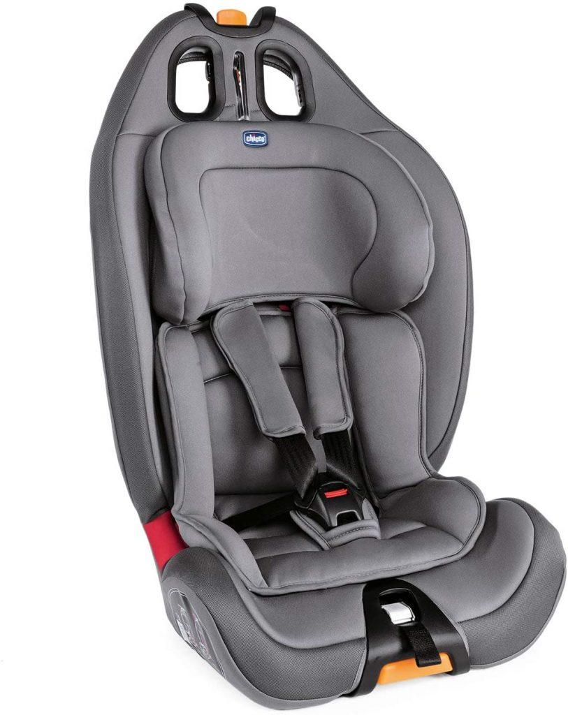 Le siège auto Chicco Grop Up 1 2 3 peut s'employer dès 9 kilos.