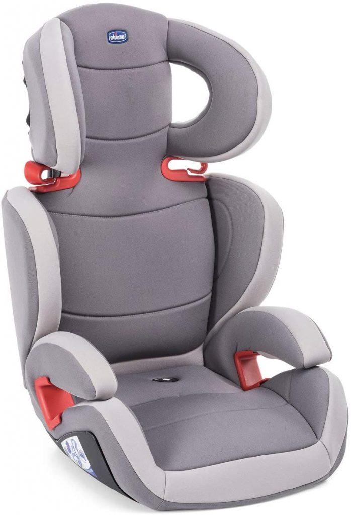 Le siège auto Chicco Key convient dès 15 kilos.