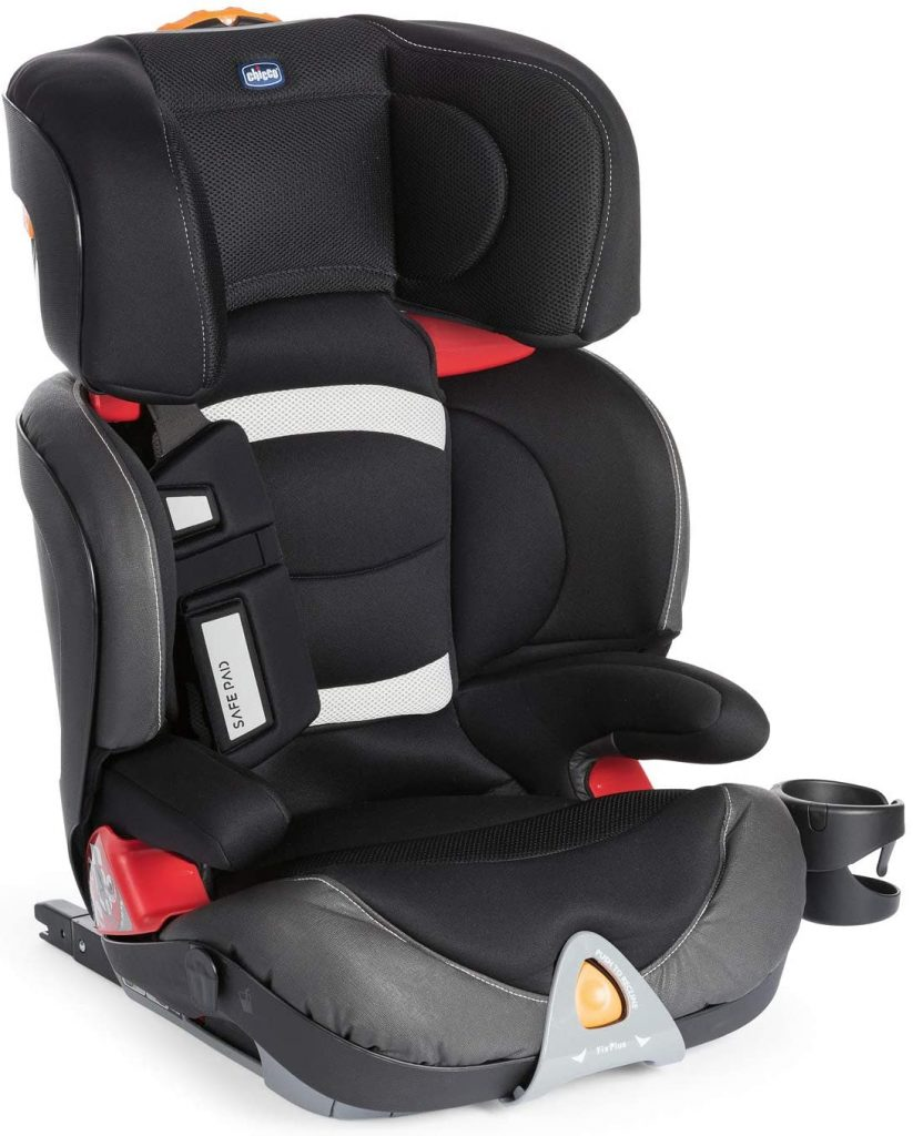 Le siège auto Chicco Oasys Evo 2 3 Fixplus convient dès 15 kilos.