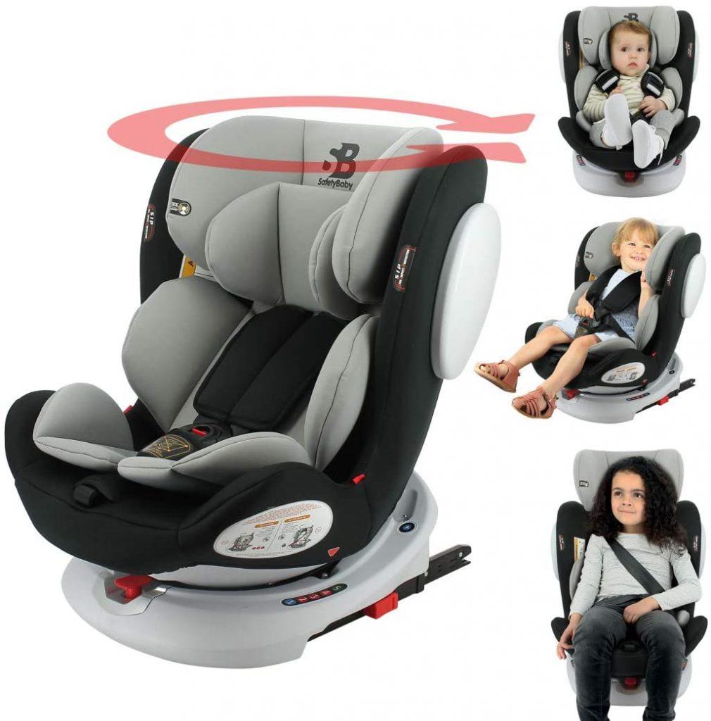 Le siège auto Nania SEATY est un siège auto Isofix.