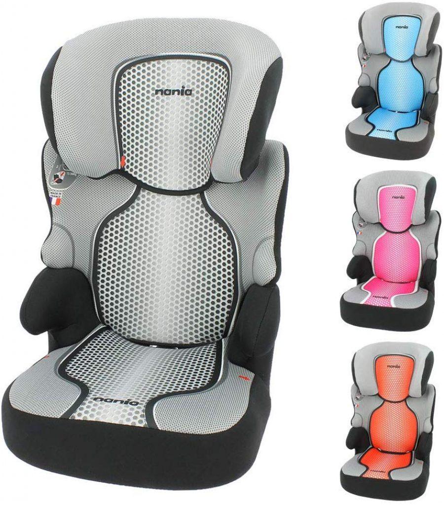 Le siège auto Nania Befix Sp s'utilise de 15 à 36 kilos.