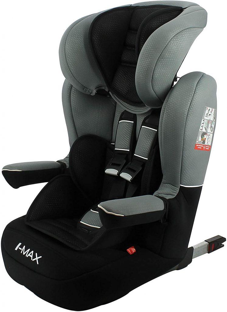 Le siège auto isofix I Max s'utilise dès 9 kilos.