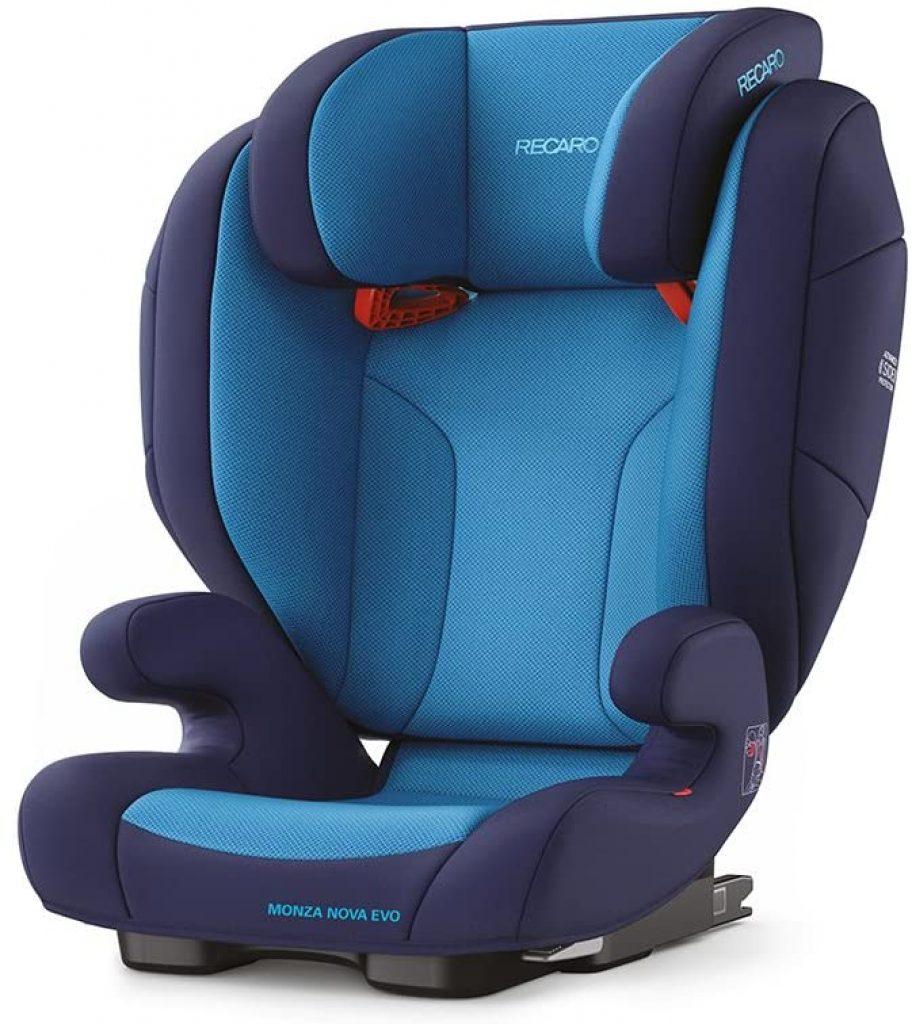 Le siège auto Monza Nova EVO SEATFIX est un siège de groupe 2/3.