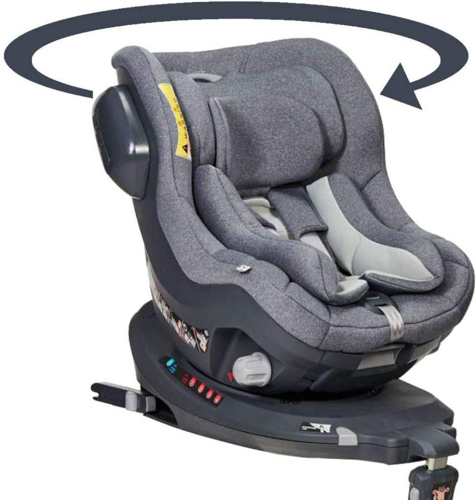 Ce siège auto pivotant isofix est de la marque Bebe2luxe.