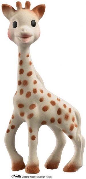 Sophie la girafe est un jouet d'éveil et de dentition pour bébé.