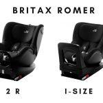 Le siège auto Britax Dualfix i-size ou 2 R pivote à 360 degrès.